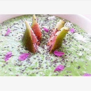 vijgen smoothie met spinazie