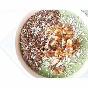 kokos spinazie smoothie