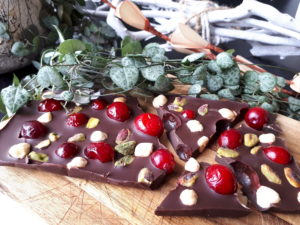 homemade chocoladereep