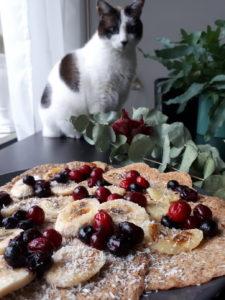 vegan pannenkoeken met Bous