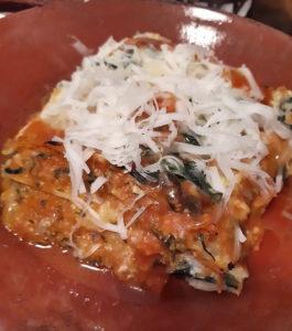 ricotta lasagna