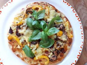 BBQ Bloemkool pizza