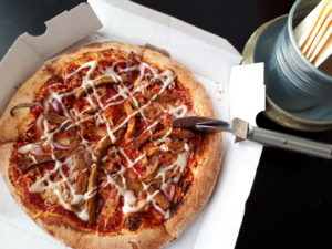 Sea Shepherd Vegan Shoarma Pizza